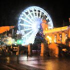 Belfast Eye at Christmas by Debbie Black