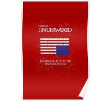 House Underwood Poster