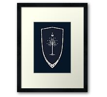 Lord Of The Rings - Gondor Shield Framed Print