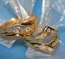 Wedding rings by Cher Cutshaw