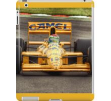 Lotus F1 - Type 101T - 1989 HDR iPad Case/Skin