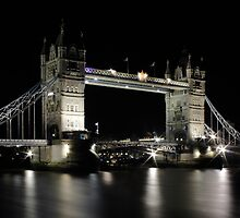 Tower Bridge by Adrian Richardson