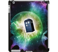 Universe Blue Box Tee The Doctor T-Shirt iPad Case/Skin