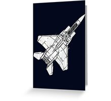 F15 Eagle Fighter Plane Greeting Card