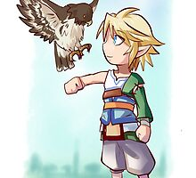 link with falcon in twilight princess by triforceyeah89
