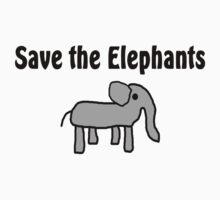 Save the Elephants T-Shirt
