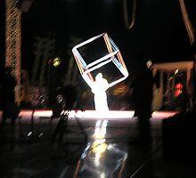 the cube man by bodymechanic