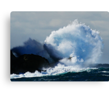 Detonating Wave Canvas Print