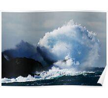 Detonating Wave Poster