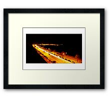Where will your road take you in 2008? Framed Print