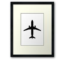 Airbus A320 (top) Framed Print