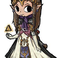 zelda twilight princess very cool design by triforceyeah89