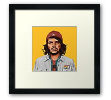 Hipstory- Che Guevara Framed Print
