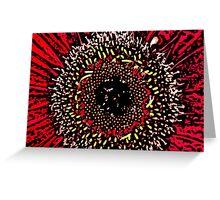 Blink - Woodcut Greeting Card