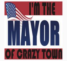 I'M THE MAYOR OF CRAZY TOWN Kids Clothes