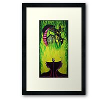 Maleficient's Anger Framed Print