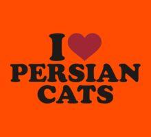 I love Persian cats Kids Clothes