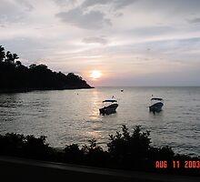 As the day ends in Puerto Valarta by webtrader