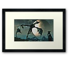 Skyworld Framed Print