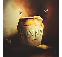 Pooh's Painting Photographic Print