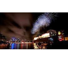 Sydney New Year's Eve Fireworks Photographic Print