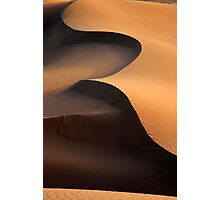 Sandy Shapes Photographic Print