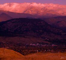 An Autumn Sunrise Over Boulder by John  De Bord Photography