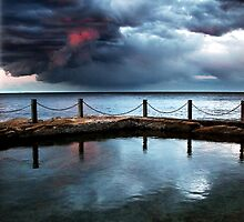 Coogee Twilight by Annette Blattman