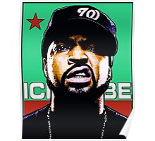 HIP-HOP ICONS: ICE CUBE Poster