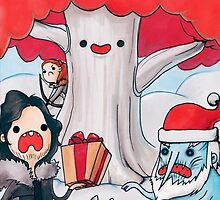 Christmas Time North of the Wall by cheezup