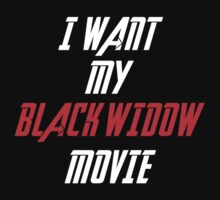 I Want My Black Widow Movie  by lokibending