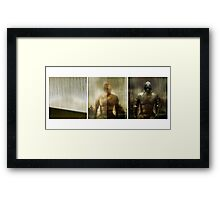 Armour maketh the man Framed Print