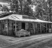 Lower Murray Inn - BW by DavidsArt