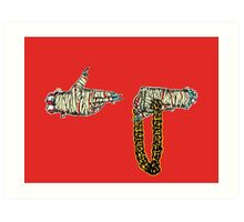 Run The Jewels 2 Art Print