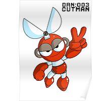Megaman Robot Master - Cutman Poster