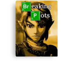 Breaking Pots Canvas Print