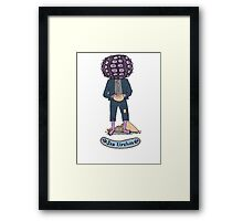 Sea Urchin Beach Boy Framed Print