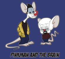 Pinkman and the brain - Breaking Bad/ Pinky and the brain T-Shirt
