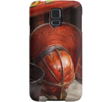Fireman - Hats - I volunteered for this  Samsung Galaxy Case/Skin