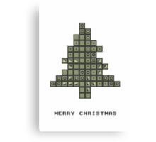 Tetrismas Tree Canvas Print