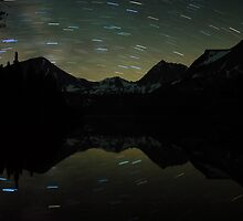 Davis Lake Star Trails by Nolan Nitschke