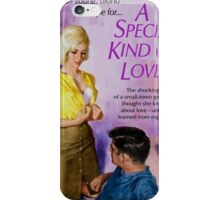 Sexy Pulp Fiction Cover - Reprint of Vintage Pulp Sex Novel iPhone Case/Skin