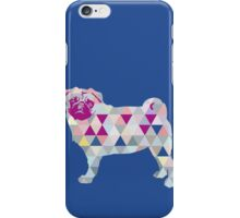 Triangle Pug iPhone Case/Skin