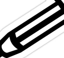 Injection syringe Sticker
