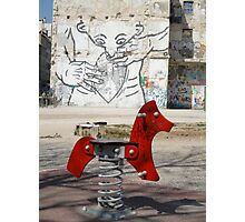 Introspective Grafitti, Marseilles, France 2012 Photographic Print