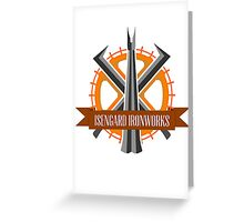 Isengard Ironworks Greeting Card