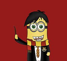 Minion Harry Potter by alwaid