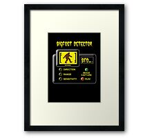 Bigfoot Detector Framed Print