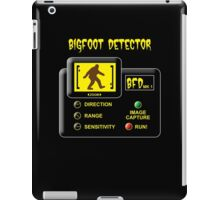 Bigfoot Detector iPad Case/Skin