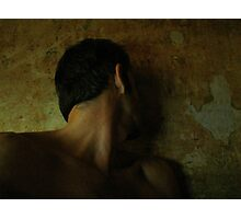 The listening, watching silence Photographic Print